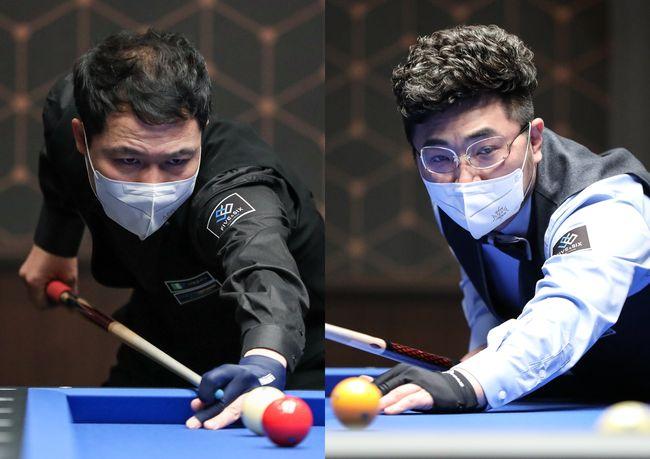 [사진]허정한(왼쪽)과 안지훈 /파이브앤식스 제공