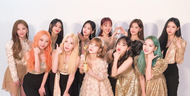 이달의 소녀, 2020 아시아 모델 어워즈 인기 스타상 수상