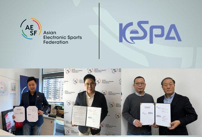KeSPA-AESF, 아시아 e스포츠 위상 강화 협력