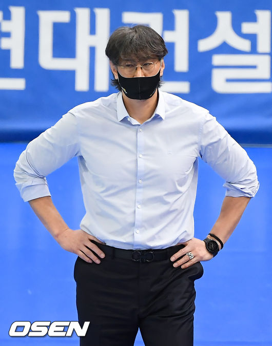 [OSEN=박준형 기자] KB손해보험 이상열 감독.