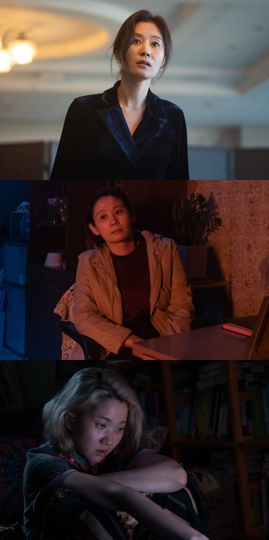 세자매 문소리x김선영x장윤주, 영화계 환불원정대? 걸크러시 장면3