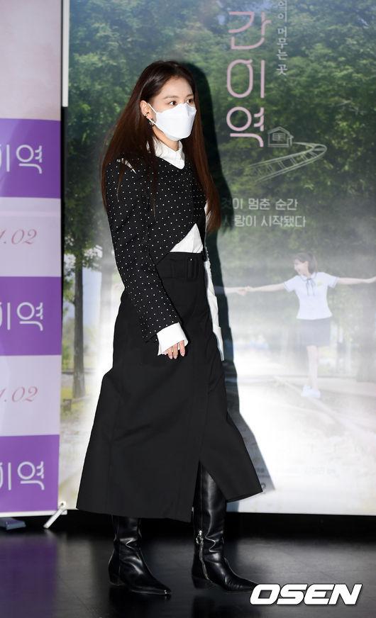 [사진]김재경,간이역으로 향하는 발걸음