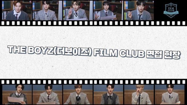 더보이즈, 시즌 그리팅 '필름 클럽' 영화부 면접 영상 깜짝 공개