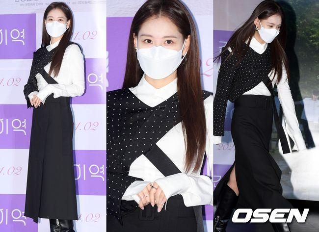 [오!쎈 Pic]'어떻게 입는 옷이야?' 김재경, 혼란스러운 재킷 패션