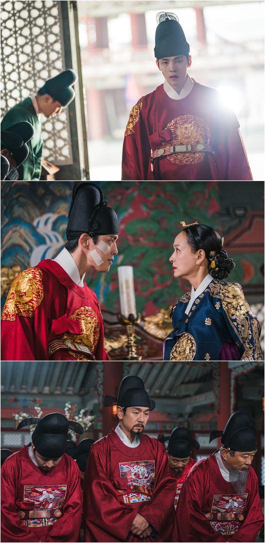 왕의귀환 김정현, 허수아비 왕 지운 강렬한 아우라 반격의 서막(철인왕후)