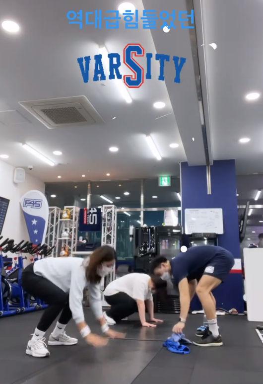 김빈우, 57.5kg 애둘 맘 탄탄한 몸매 비결은 역시 운동 역시 잘했어