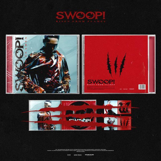 우디 고차일드, SWOOP! 호평 세례→피지컬 음반 판매 시작..끊임없는 콘텐츠