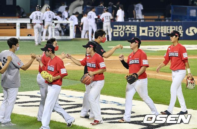[사진]8-3 승리거둔 SSG