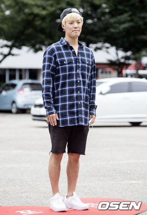 [OSEN=박재만 기자] 강남이 6일 오전 서울 여의도 KBS 신관 공개홀에서 열리는 KBS2 '뮤직뱅크' 리허설에 참석해 자리를 빛내고 있다. /pjmpp@osen.co.kr