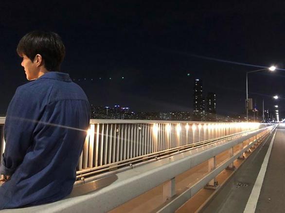 [사진=김선호 SNS] 배우 김선호가 '1박 2일' 시즌4 합류 소감을 밝히며 공개한 사진.