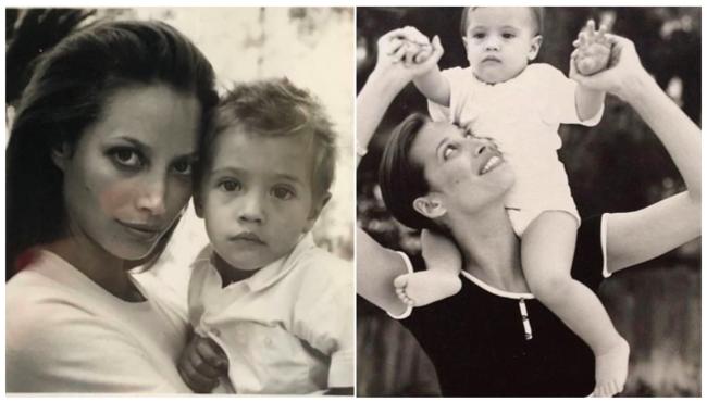 [사진] 카터가 아기 시절 이모 크리스티와 찍은 모델 사진. /MLB.com