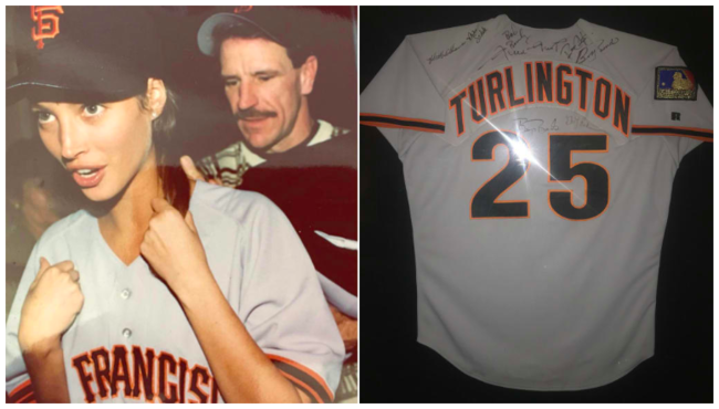 [사진] 1994년 크리스티의 샌프란시스코 유니폼. /MLB.com