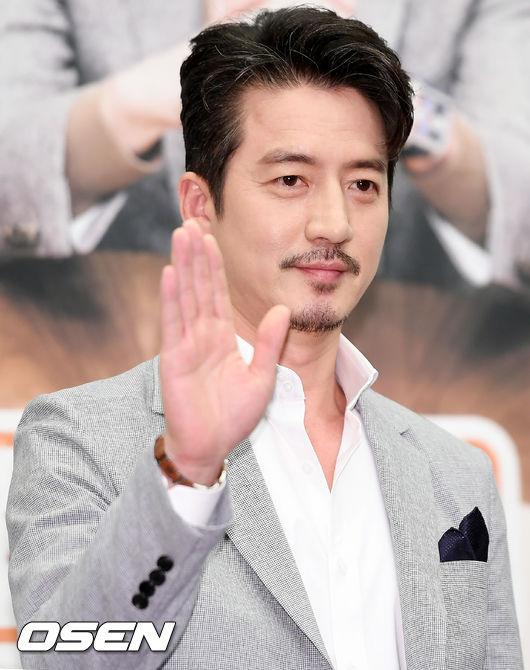 [사진=OSEN DB] 배우 정준호가 tvN 예능 프로그램 '문제적 보스' 제작발표회에 참석했다.