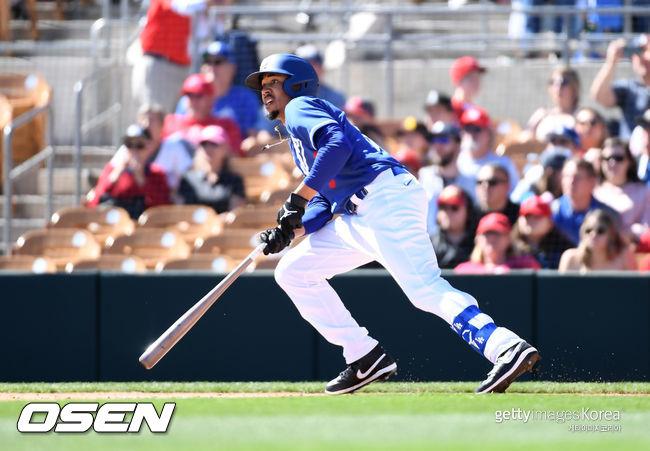 [사진] LA 다저스 무키 베츠. ⓒGettyimages(무단전재 및 재배포 금지)