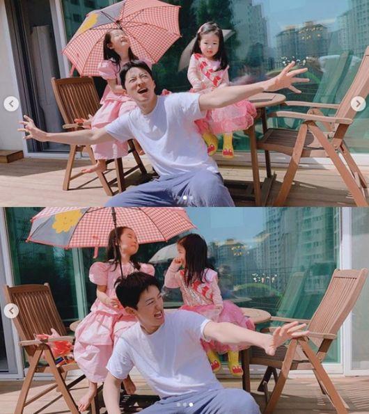 소이현♥?인교진, 사랑스런 두 딸과 행복 일상..'핑크 공주'[Oh!마이 Baby]