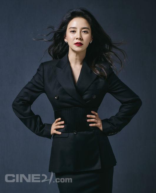 송지효, 파워 당당 카리스마..'런닝맨' 멍지효는 어디로[화보]