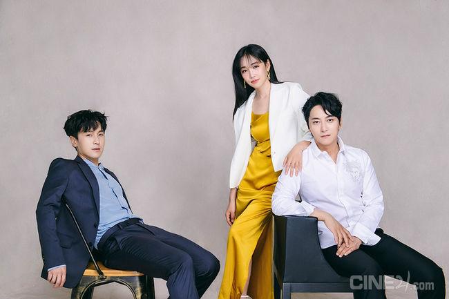 '소리꾼' 김동완x이유리x이봉근, 부드러운 카리스마[화보]