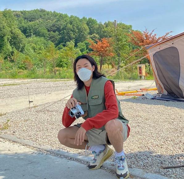 류준열, 마스크 끼고 떠난 캠핑..빛나는 패션 센스 [★SHOT!]