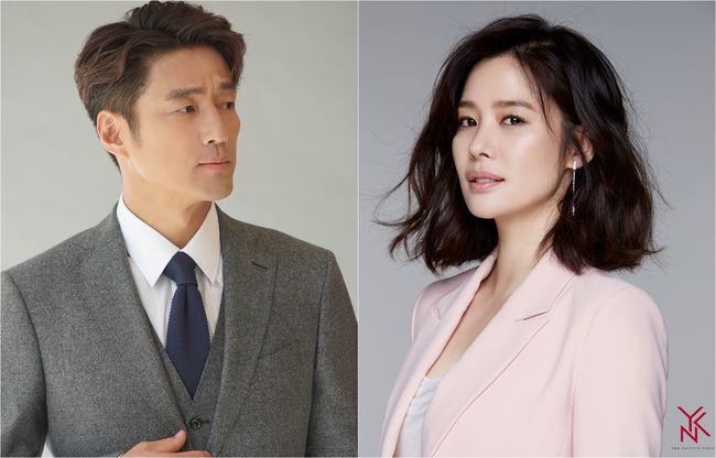 지진희(왼쪽), 김현주. 각 소속사 제공