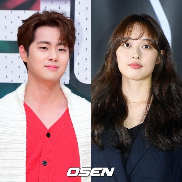 [사진=OSEN DB] 배우 조병규(왼쪽)와 김보라(오른쪽)가 결별했다.