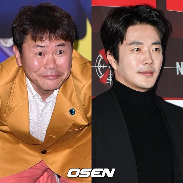 [사진=OSEN DB] 코미디언 강성범(왼쪽)과 배우 권상우(오른쪽)가 해외 원정도박 혐의를 부인했다.