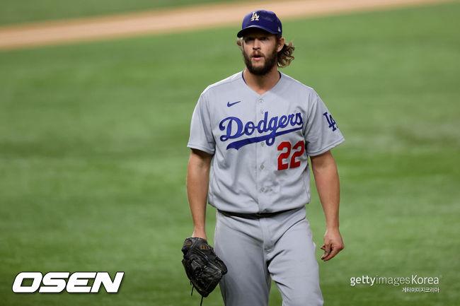 [사진] LA 다저스 투수 클레이튼 커쇼. ⓒGettyimages(무단전재 및 재배포 금지)
