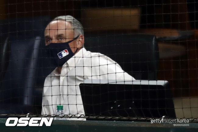 [사진] 롭 만프레드 MLB 커미셔너 /ⓒGettyimages(무단전재 및 재배포 금지)