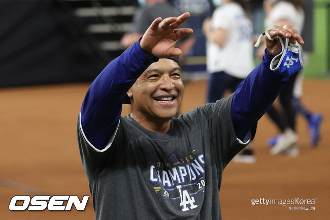 [사진] LA 다저스 데이브 로버츠 감독. ⓒGettyimages(무단전재 및 재배포 금지)
