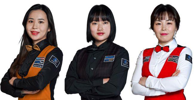 [사진]왼쪽부터 김진아, 한지은, 이신영 /파이브앤식스 제공