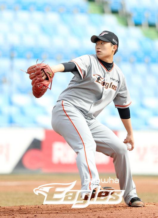 [사진] 김기중 /한화 이글스 제공