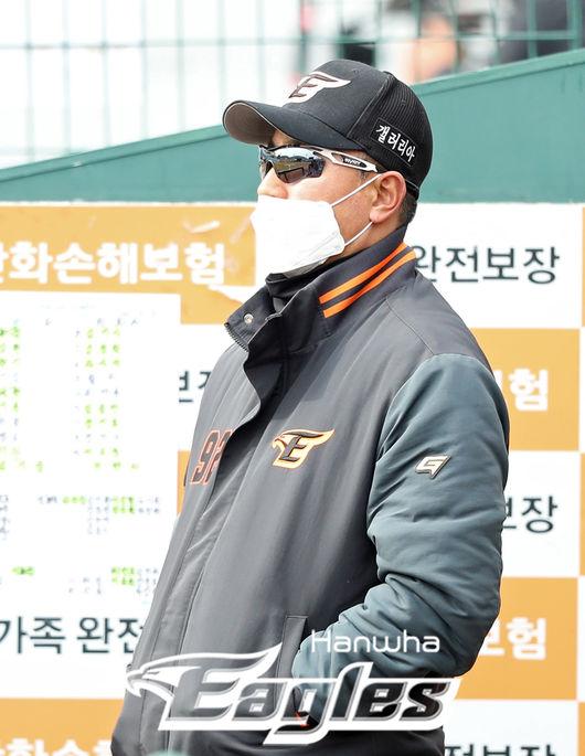 [사진] 최원호 한화 퓨처스 감독 /한화 이글스 제공
