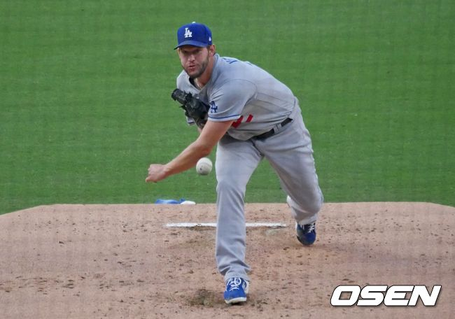 [OSEN=샌디에이고, 이사부 통신원] LA 다저스의 클레이튼 커쇼. /lsboo@osen.co.kr