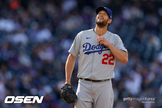 [사진]LA 다저스의 클레이튼 커쇼. ⓒGettyimages(무단전재 및 재배포 금지)