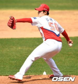KIA 타이거즈 우완투수 김현수./OSEN DB