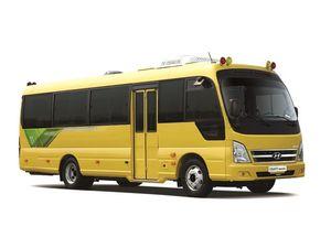 카운티 일렉트릭 어린이용 버스.
