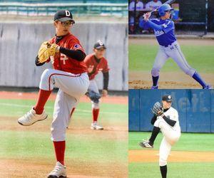 [사진] (왼쪽부터 시계방향으로) 리틀야구-중학교-고등학교 시절 최세창 / 최세창 제공