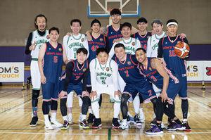 [사진] KBL(한국프로농구)레전드들이 고등학교 농구 꿈나무들에게 한 수 가르쳐주기 전'대선배'들을 찾아갔다. / 'H ENT 제공