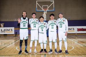 [사진] 한국 농구 역사의 전설들이 한자리에 모이면서 추억의 빅 매치가 성사됐다. / 'H ENT 제공